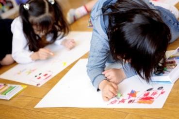 子供アートセラピー